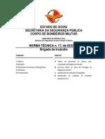 Bombeiro Goias - NORMA TÉCNICA - Brigada de Incêndio