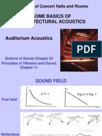 1 Auditorium Acoustics