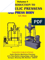 Voulme 1. Hydraulic Presses & Design of Press Body