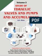 Vol.3. Study of Hyd. Valves & Pumps, Accumulator