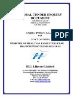 Global Tender HL Machine