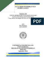 Landasan YUridis Pendidikan & PembelajaranIbnu_Yuridis