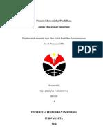 Pranata Ekonomi Dan Pendidikan Dalam Masyarakat Suku Dani