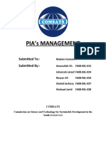 PIA's Management