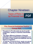 FIs Risk Management19