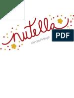 Nutella Redesign Pitch Book