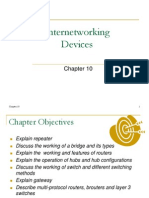 Chapter 10 Internetworking Devices