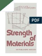 N. M. Belyaev- Strength of Materials- Mir