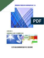玻璃帷幕大樓隔熱省電新技術-隔熱塗料施工法