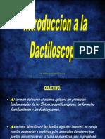 Introduccion a La Dactiloscopia