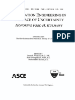 Foundation Engineering in the Face of Uncertainty - ASCE