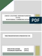 Cross Culture Understanding