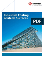 Industrial Coating of Metal Surfaces