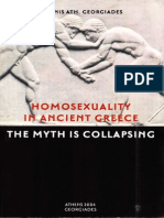 Homosexuality in Ancient Greece - The Myth is Collapsing (by Adonis Georgiades)