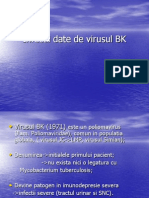Infectii Date de Virusul BK