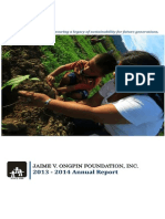JVOFI Annual Report 2013-14