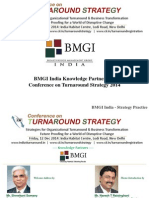 BMGI India Knowledge Partner For Conference on Turnaround Strategy 2014