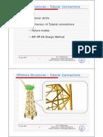 Tubular Joint API RP 2A Design