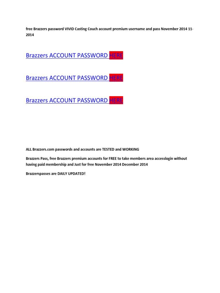 Brazzers Password Vivid Casting Couch Digitalplayground Premium Accounts Nov 2014 20 11 2014