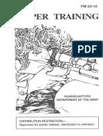 Army - fm23 10 - Sniper Training
