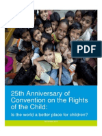 25th Anniversary of Convention on the Rights of the Child