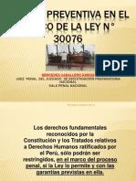 1_Prision Preventiva ley 30076.ppt