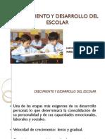 Crecimiento y Desarrollo Del Escolar 2014