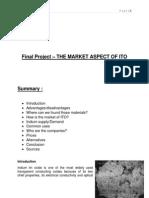 The market aspect of ITO.docx