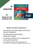 Textbook Analysis