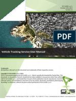 Panda Plast - Vehicle Tracking Service User Manual