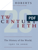 Twentieth Century, The History of the 20C