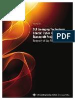 Cyberintelligence Summary Key Findings