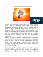 Short Biography of Swami Vivekananda