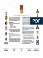 BC Police Code of Ethics Document