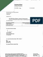 Gypsum Plaster Testing Letter