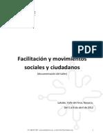 Documentaciónn Taller Facilitación Grupos y Reuniones