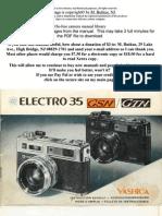 Yashica Electro 35 GSM
