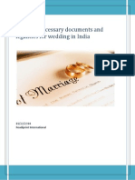 A Look at Necessary Documents and Legalities