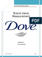 Brand Value Measurement of Dove