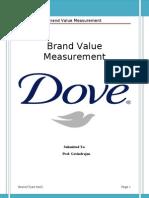 Brand Value Measurement of Dove