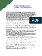 Analisa Nilai Tambah Dan Kelayakan Usaha Agroindustri Bakpao Telo Di Home Industri LESTARI