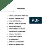 1. Daftar Isi 2012