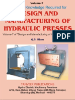 Volume.7. Design and Manufacturing of Hydraulic Presses