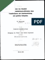 Ueber Das Streufeld Und Den Streuinduktionskoeffizienten Eines Transformators Rogowski W. OCR 2