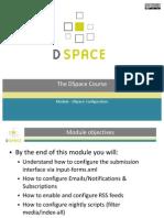 Module - DSpace Configuration (Slides)