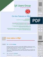 Tablas Color