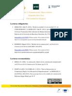 Lecturas recomendadas Módulo 2 | MOOC Comunicación y Aprendizaje Móvil