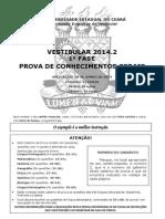 1ª Fase UECE 2014.2 - Prova 2 (1).pdf