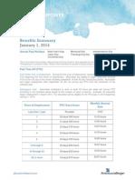 2014 Benefits Summary FINAL