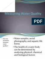 measuring water quality